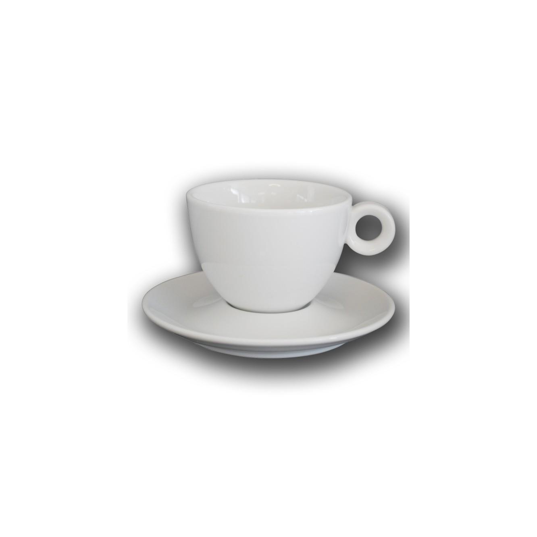 Kop en schotel Bola Cappuccino 20 cl