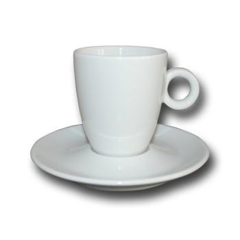 Kop en schotel Bola Koffie hoog 19 cl