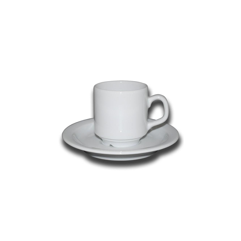 Kop en schotel Sara Koffie 14 cl