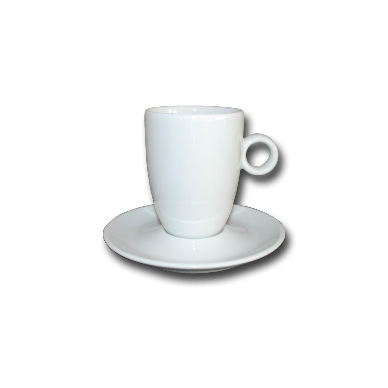 Kop en schotel Bola Cappuccino kop Hoog 25 cl