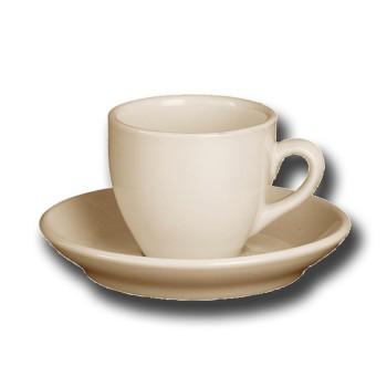 Kop en schotel Robusta Espresso 9 cl