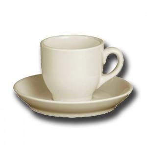 Kop en schotel Robusta koffie 15 cl
