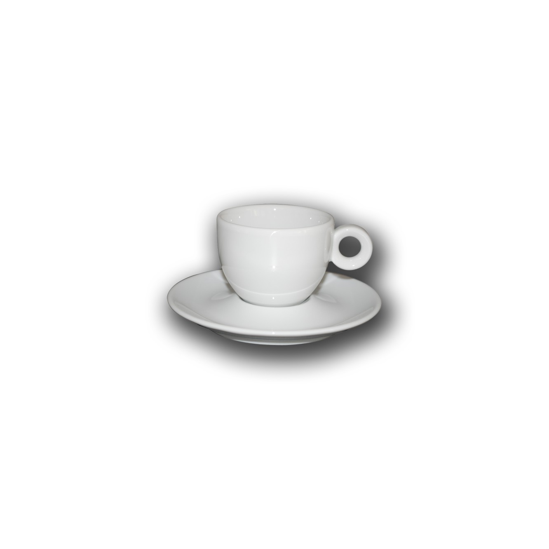 Kop en schotel Bola Koffie Laag 15 cl