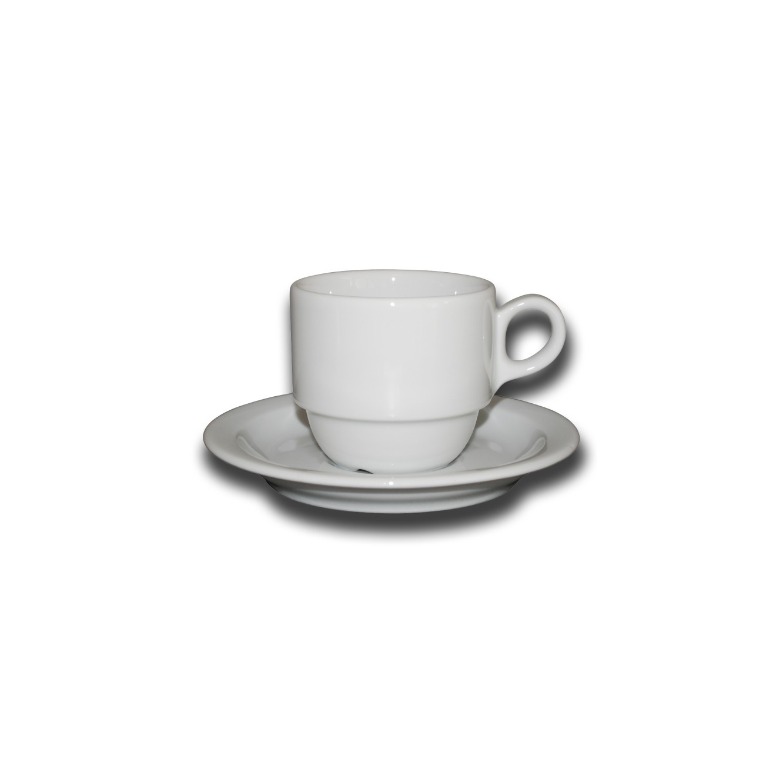 Kop en schotel Legio koffie 16 cl