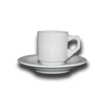 Kop en schotel Sara Espresso 7 cl